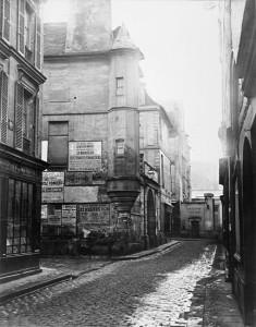 Rue Hautefeuille 1869-1870
