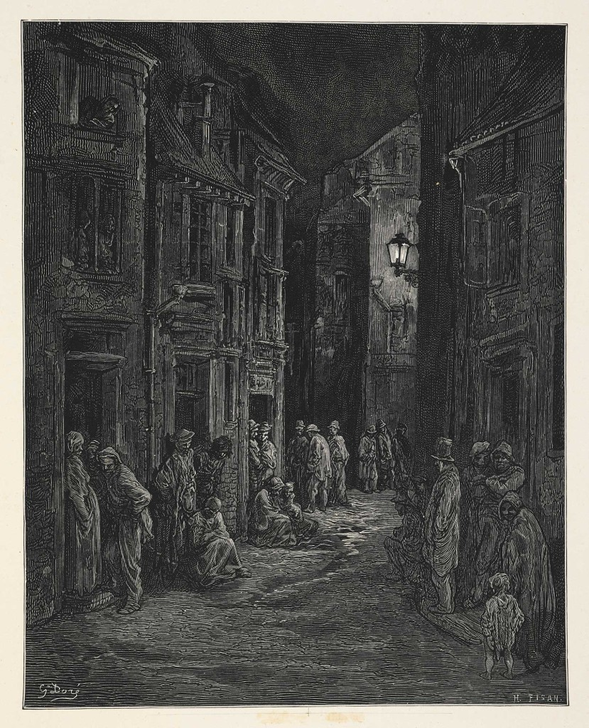 City of Dreadful Night Gustave Doré 1