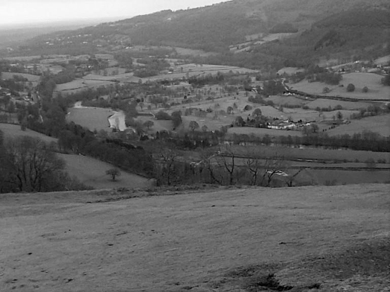 Castell Dinas Bran 12