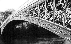 Iron Bridge at Aldford